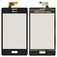 Сенсор LG E610/E612 Optimus L5 (Чорний) Original