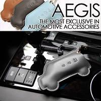 Кожаный чехол для смарт-ключа (4 кнопки) Pocket Car - KIA Forte / Cerato (AEGIS)