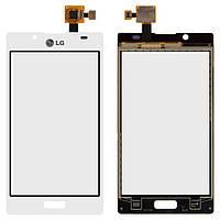 Сенсор LG P700/P705 Optimus L7 (Білий) Original