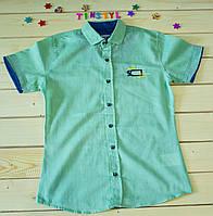 Стильная рубашка ,шведка  для мальчика рост 134-170, фото 1