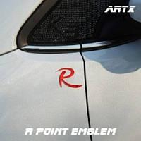 Леттеринг  эмблема R-logo No.7 для KIA Sorento R / Sportage R (ARTX)