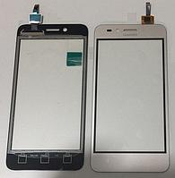 Оригинальный тачскрин / сенсор (сенсорное стекло) для Huawei Y3 II 4G (золотой цвет)