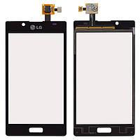 Сенсор LG P700/P705 Optimus L7 (Чорний) Original