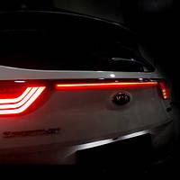 Молдинг багажника со светодиодной полосой MOVING TYPE - KIA All New Sportage (LED & CAR)