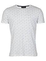 Мужская футболка белая Falling от Tailored & Originalsв размере L