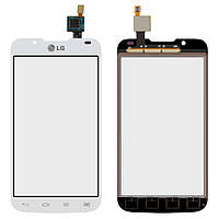 Сенсор LG P715 Optimus L7 II (Білий) Original
