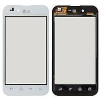 Сенсор LG P970 Optimus (Білий)