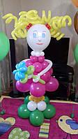 Кукла из воздушных шариков