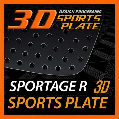 Накладки на задние стекла Sports Plate Circle - KIA Sportage R (DXSOAUTO)