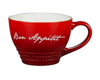 Керамическая чашка Le Creuset Bon Appetit Bistro Mug 400 мл.