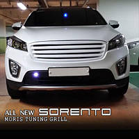 Решетка радиатора - KIA All New Sorento UM (MORRIS)