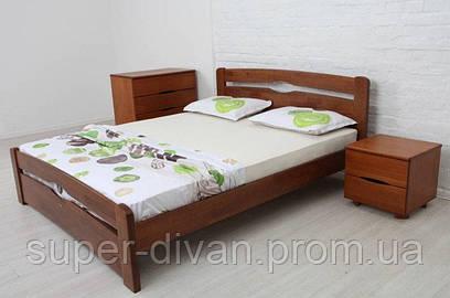 Кровать  Каролина (Бук) 1,6 с изножьем
