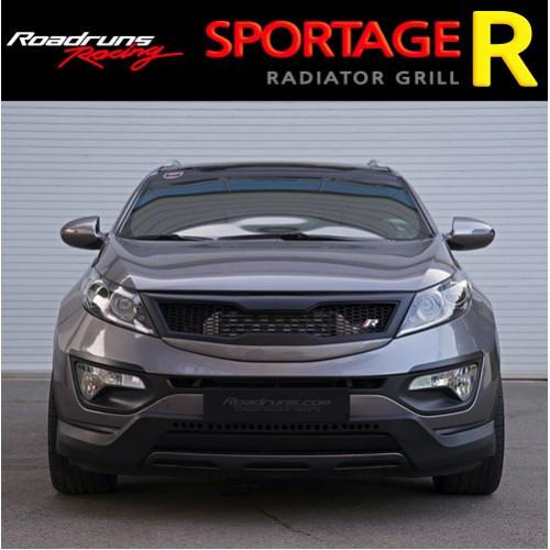 Решітка радіатора Ver.2 - KIA Sportage R (ROADRUNS)