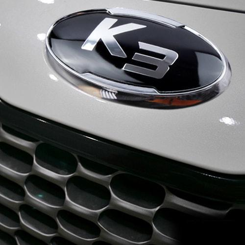 Эмблемы VIP-134 (передняя+задняя+клаксон) - KIA K3 / New Cerato (VIP)