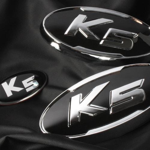 Емблеми VIP-171 (передні+задні+клаксон) - KIA K5 / New Optima (VIP)