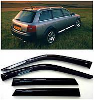 Ветровики Audi A6 Allroad 2000+ / Audi A6 Avant 1997+, Дефлекторы окон Ауди А6 Авант