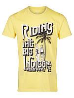 Мужская футболка желтого цвета Hanlee от Solid Дания в размере L