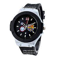 Hublot Big Bang FC Barcelona Quartz Black-Silver-Black