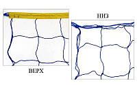 Сетка для волейбола Эконом15 UR SO-5265 (PP 2,5мм, р-р 9x0,9м, ячейка 15x15см, шнур натяжения), фото 1