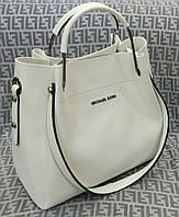 Модная сумка Michael kors MICHAEL KORS белая фурнитура серебро, фото 1
