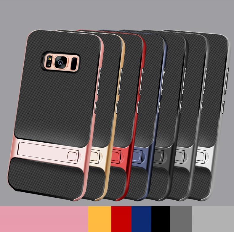 """Samsung G950F S8 противоударный чехол оригинальный бампер панель накладка для телефона """"GENLV B"""""""