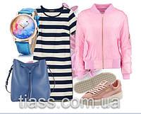 Платье под кроссовки несколько образов от TIASS