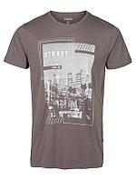 Мужская футболка серая Haldane от !Solid в размере L