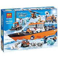 """Конструктор Bela 10443 (аналог Lego City 60062) """"Арктический ледокол"""", 760 дет URBAN ARCTIC"""