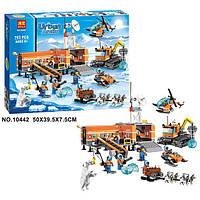 """Конструктор Bela 10442 (аналог Lego City 60036) """"Арктический лагерь"""", 783 дет URBAN ARCTIC"""