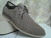 Мужские летние песочные нубуковые туфли Madoks