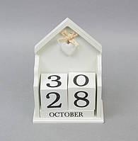 """Вечный календарь """"Домик"""" PR334. Подарки в стиле Прованс"""
