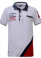 Рубашка-поло для мальчика Glo-story р.134-158 (арт.1346бел)