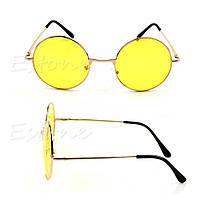 Оранжевые, желтые очки женские