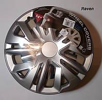 Автомобильные колпаки на колеса JESTIC R14 RAVEN