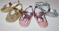 Туфли (макасины)  на девочку до 1 года  на 11см и 11,5 см