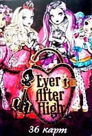 """Игральные карты детские  """"Ever After High"""", фото 1"""