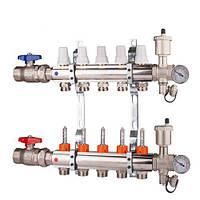 Коллектор  регулировка ручная или терморегулирующая на 2 выхода