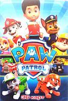 """Карты игральные детские мультики """"Paw Patrol"""", фото 1"""
