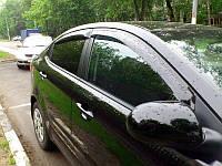 Ветровики BMW 1 E87, Дефлекторы окон БМВ 1 Е87 Седан, фото 1