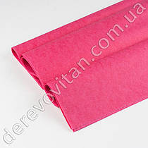 Бумага тишью, малиновая, 50 на 75 см, 10 листов