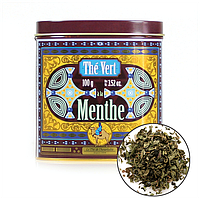 Органический  мятный зеленый чай Туарег,100г , Terre d'Oc