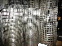 Сетка сварная штукатурная оцинкованная 1,0 12х12 1х30 м