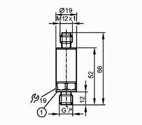 Датчик тиску 0-400 bar (Аналоговий вихід), фото 2