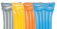 Матрац надувной Bestway 44013 с подголовником, 183-76 см, 4 цвета,