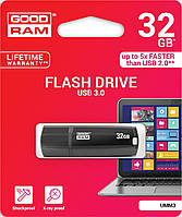 Флешка USB GoodRam Cl!ck 32 ГБ (UCL3-0320K0R11) чорна