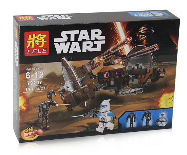 Конструктор STAR WARS 79207 (Звездные войны) Дроид Огненный град 177 дет