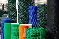 Пластиковые сетки и декоративные заборы 1 м ( ячейка 10х10 )