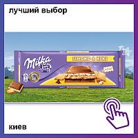 Шоколад Milka Choco and Biscuit Милка Чоко Бисквит Milka Schoko & Keks