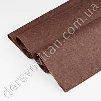 Бумага тишью, коричневая, 50 на 75 см