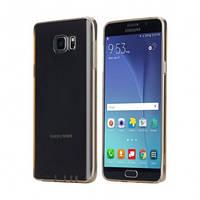 Чехол rock Slim Jacket для Samsung Galaxy Note 5 золотой, фото 1